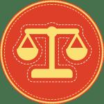 Badge icon for Explore Center's Pre-Law program