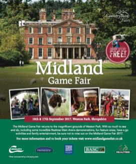 Midland Game Fair Poster