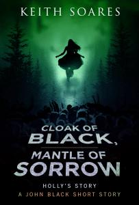 Cloak of Black Mantle of Sorrow