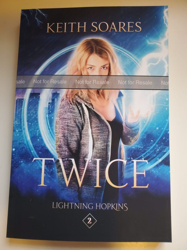 Twice (paperback) (proof)