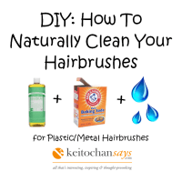 DIY: How To Naturally Clean Your Hair Brushes