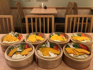慶雲の蒸野菜セット