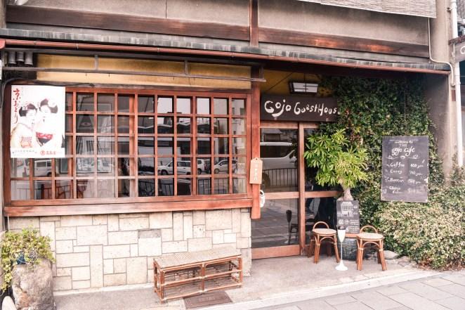 Traditional shops around Kyoto