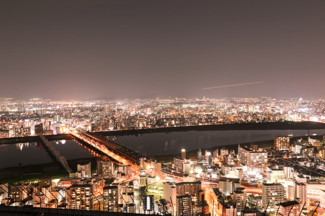 Osaka City Lights