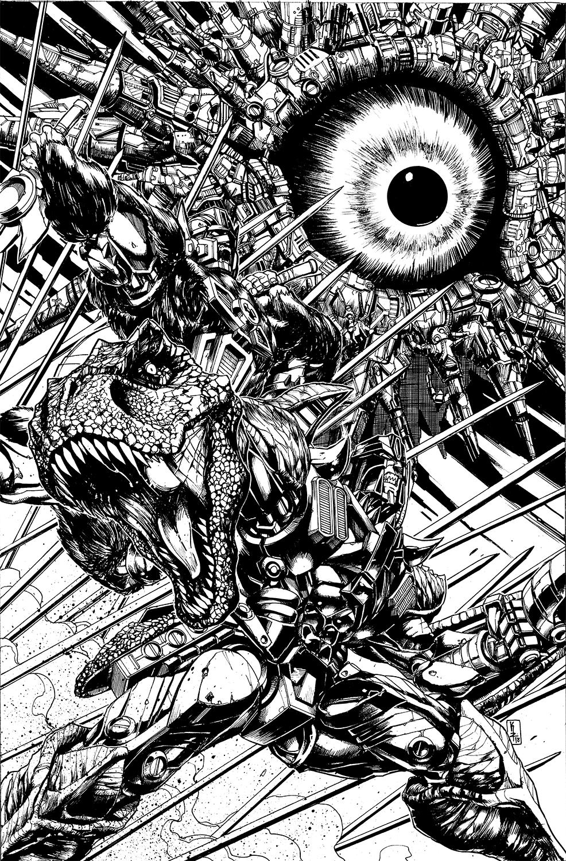 Optimus Prime #20 Cover lines