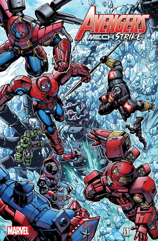 Avengers: Mech Strike #3 cover color
