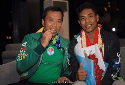 Video & Wawancara Lalu Muhammad Zohri Pulang ke Tanah Air, Di Sambut Bak Pahlawan