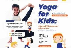 Kelas Yoga Online untuk Anak-anak