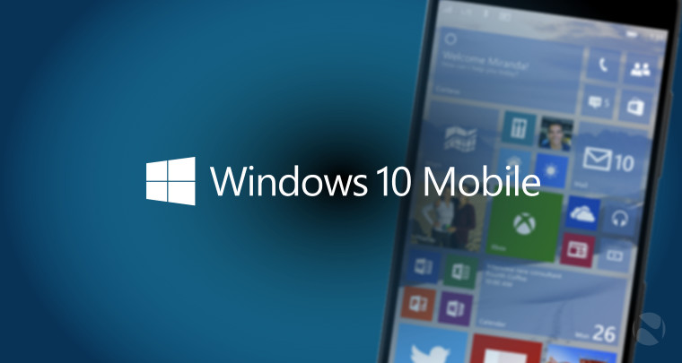 Disponibile nuovo aggiornamento per Windows 10 Mobile