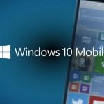 Disponibile nuovo aggiornamento per Windows 10 Mobile