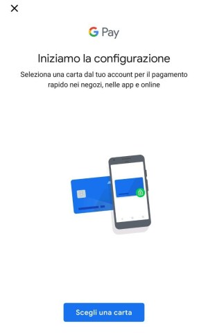 secondo step - Google Pay