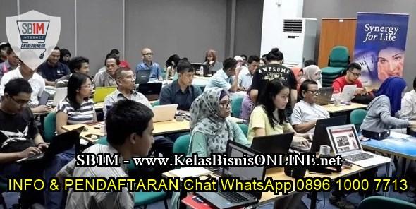Seminar Workshop Bisnis Online SB1M di Kudus