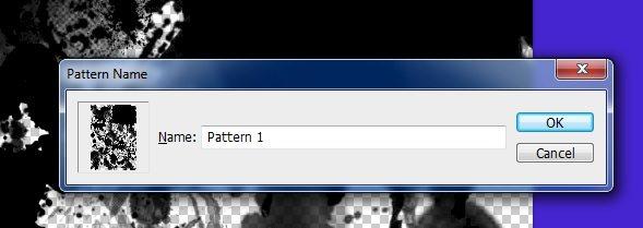 Define Pattern Name