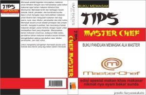 cover buku chef master