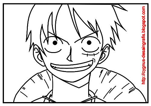 Menggambar Dan Mewarnai Karakter Manga Onepiece Dengan Coreldraw
