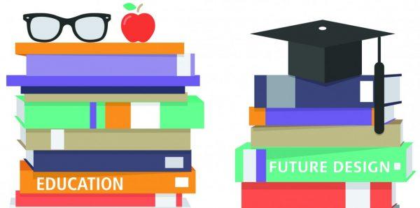 stack-of-school-books.eps