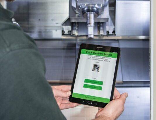 Safecontrol digital measurement using Bluetooth on Tablet / PC