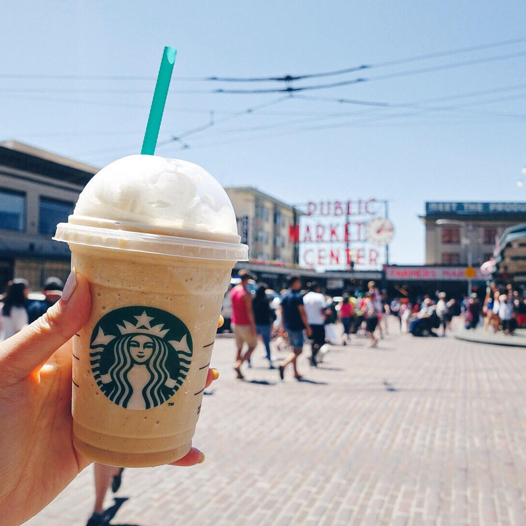 Pike Place with Starbucks