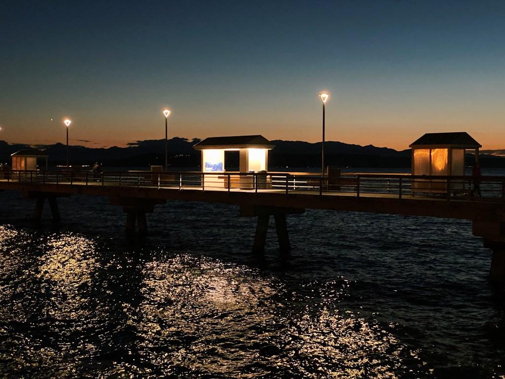Edmonds Pier Sunset