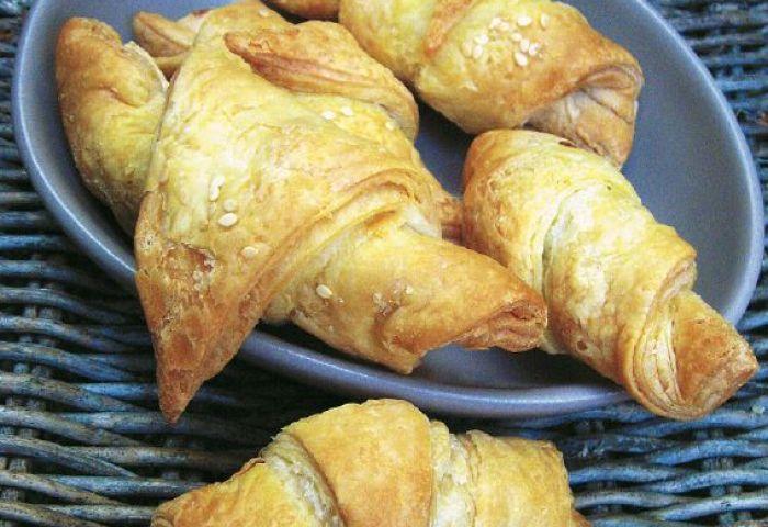 Recette Petits Croissants Salés Aux Artichauts