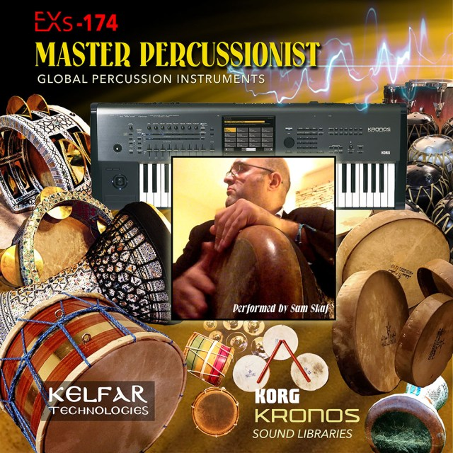 Korg Kronos percussion library