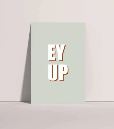 Ey Up Green