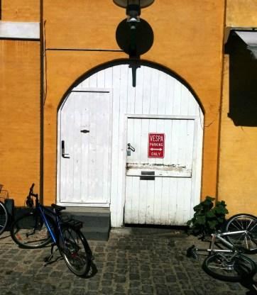 Vespa only in Dragør