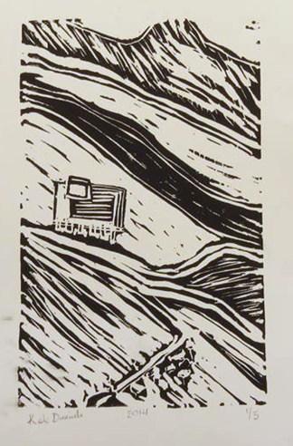 Italian Mountains - Print