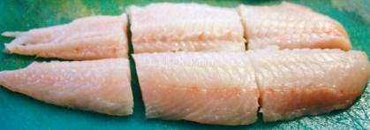 Cut Haddock