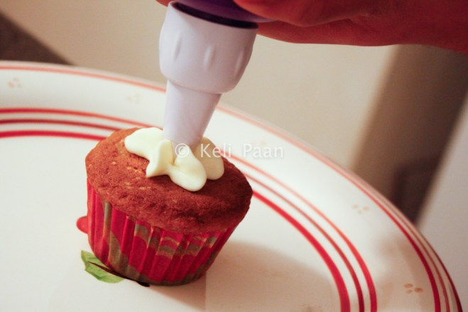 Adding the frosting