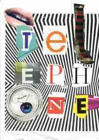 Kelise Franclemont, 'telephone sex', 2013, collage and glue. Image courtesy Kelise Franclemont.