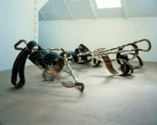 Richard Deacon, 'Out of order', 2003, wood and steel. Image courtesy tate.org.uk