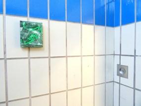 Work by James Pimperton, 'Padsjgams' in The Old Police Station, Deptford, London. Photo credit Kelise Franclemont.