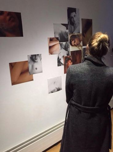 Sophie Davis, installation view, 2016, photography, in 'Skin&Blister' at Photofusion, Brixton, London. Photo credit Laura Solomons.