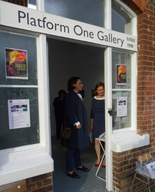 'Fragments and Traces: l'invitation au voyage' at Platform 1 Gallery, Wandsworth Common Station, London. Image credit Thomas Butler.