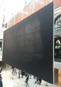 Guiseppe Penone, 'Pelle di Grafite-Giano', 2015, in 'Penone in the Gardens' at Rjjksmuseum, Amsterdam. Photo: Kelise Franclemont.