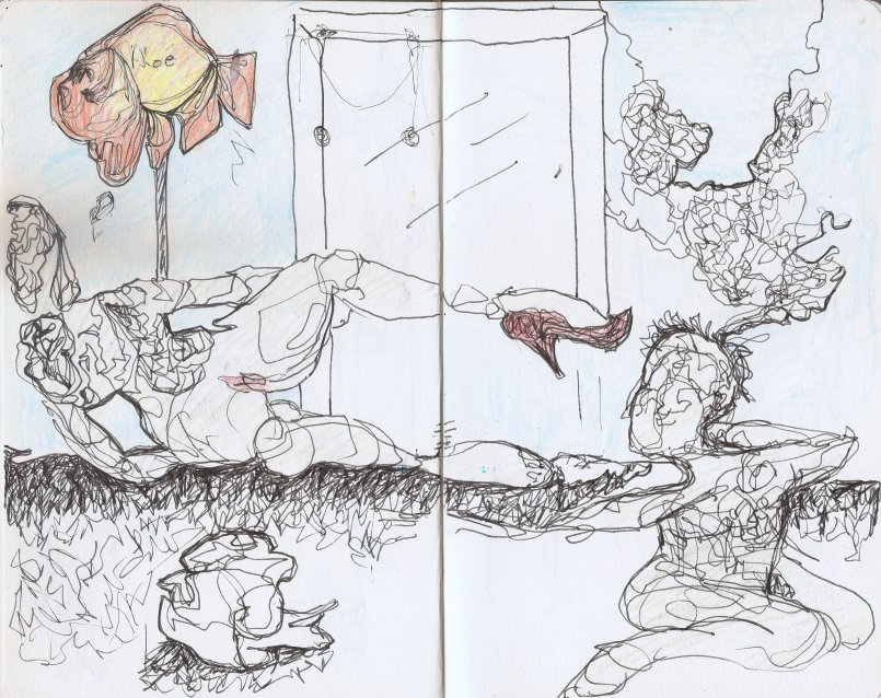 Kelise Franclemont, drawings from 'limn reveries', 2013. Image courtesy the artist.