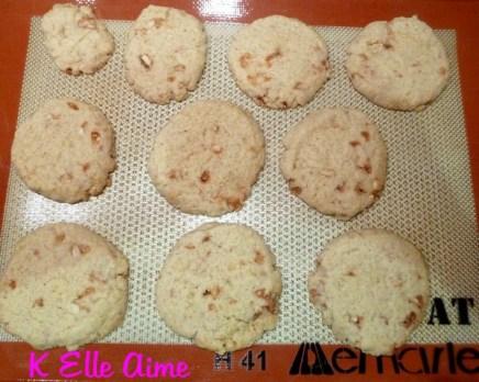 Cookies à la nougatine