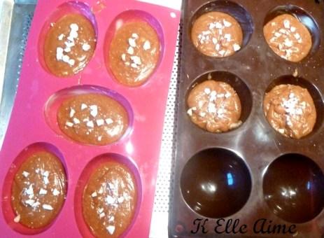 Cakes caramel amande de Christophe Adam