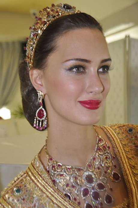 Coiffure De Mariage Marocain