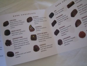 Chocolate Directions
