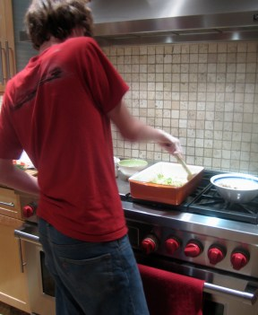 The RTR Cooks while in the dungeon over school and restriction from his beloved computer