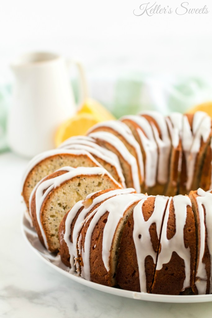 Lemon Poppy Seed Bundt Cake| This Lemon Poppy Seed Bundt Cake is SO delicious and so simple. A lot of my cakes and desserts on this page are a little extra and over the top, so the next few days I am going to post a few simple bundt cakes! | https://butterysweet.com/blog/lemon-poppy-seed-bundt-cake