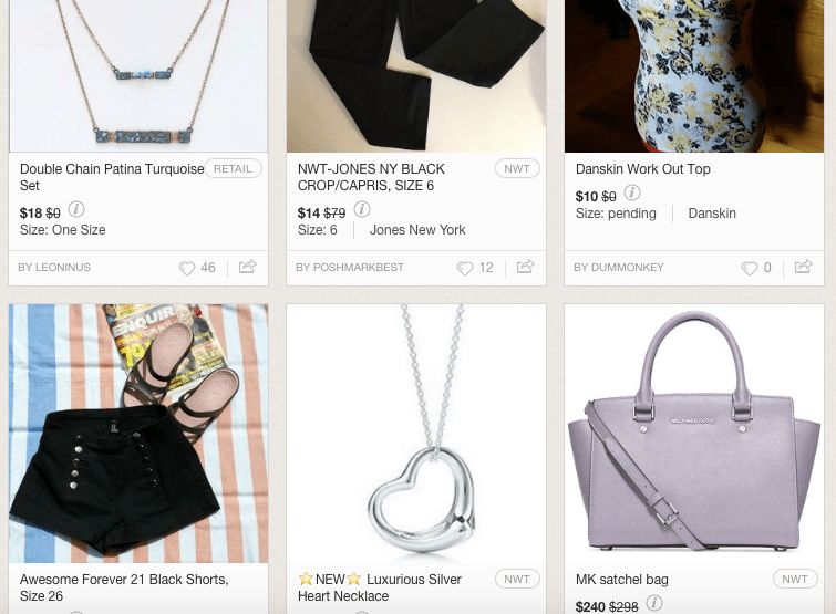 5 Easy Ways to Sell Your Old Clothes Online - Poshmark