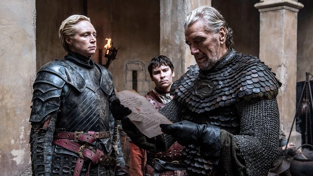 Game of Thrones Brienne Podrick Blackfish