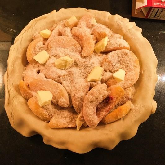 Incredibly Easy Peach Pie Step 2