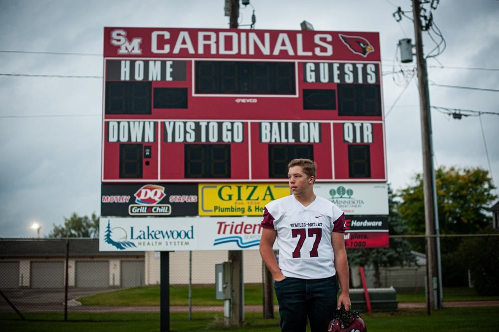cardinal football senior