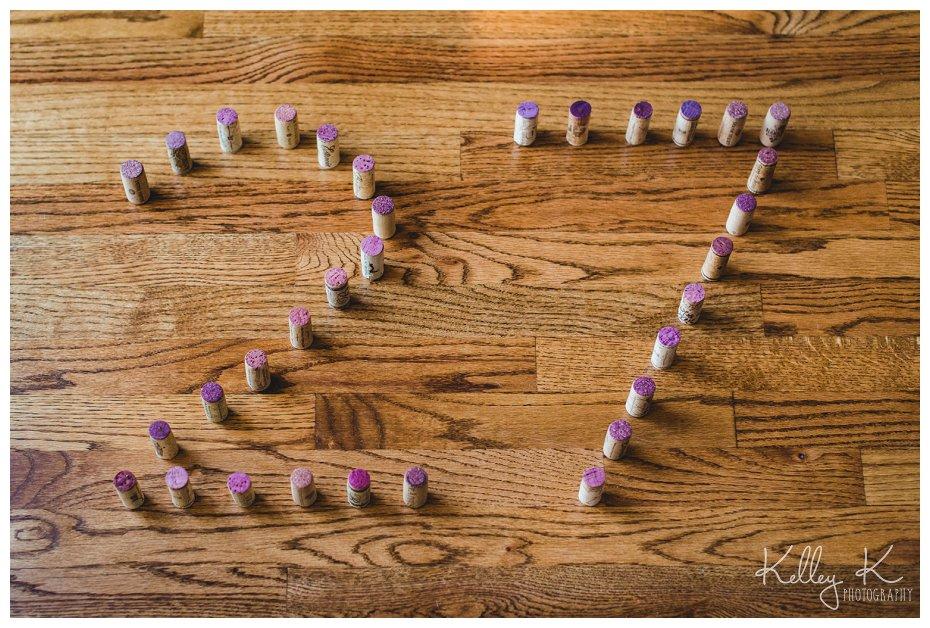 Number 27 in wine corks {Smyrna Photographer Kelley K}