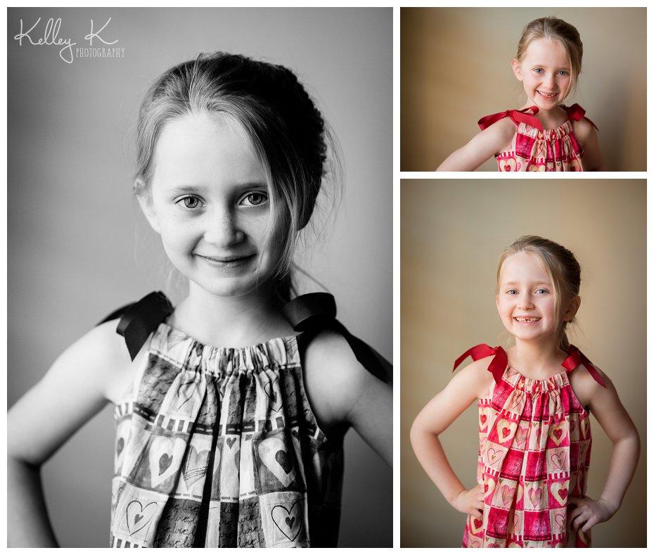 Child's Valentine's portraits | Kelley K Photography - Smyrna