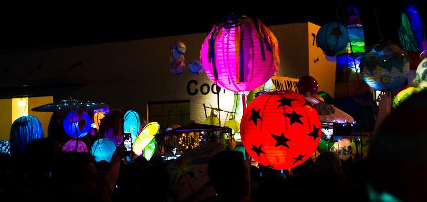 Atlanta Lantern Parade | Kelley K Photography